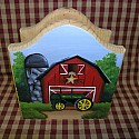 John Deer Red Barn