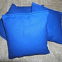 Royal Blue Cornhole Bags