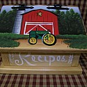 John Deere Red Barn
