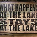 What Happen at the Lake Stays at the Lake