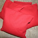 Red Cornhole Bags