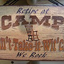 Retire at Camp...