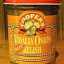 Hot Vidalia Onion Relish