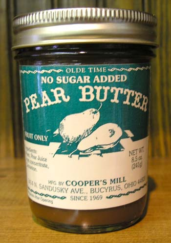 No Sugar Added Pear Butter