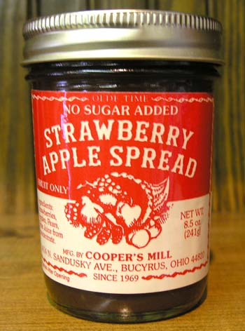 Strawberry Apple Spread-No Sugar Added