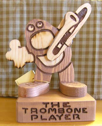 The Trumbone Player