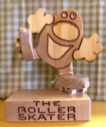 The Roller Skater