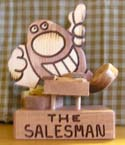 The Salesman  -  Cat No:   -  Click To Order  -  ID: 393