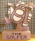 The Golfer  -  Cat No:   -  Click To Order  -  ID: 317