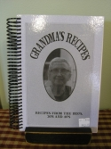 Grandma's Recipes  -  Cat No:   -  Click To Order  -  ID: 1039
