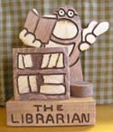 The Librarian  -  Cat No:   -  Click To Order  -  ID: 335