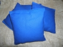 Royal Blue Cornhole Bags  -  Cat No:   -  Click To Order  -  ID: 768