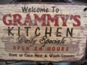 Welcome to Grammys Kitchen  -  Cat No:   -  Click To Order  -  ID: 811