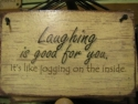 Laughing is good for you  -  Cat No:   -  Click To Order  -  ID: 794