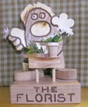 The Florist  -  Cat No:   -  Click To Order  -  ID: 302