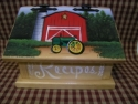 John Deere Red Barn  -  Cat No:   -  Click To Order  -  ID: 1165