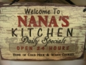 Welcome to Nana's Kitchen  -  Cat No:   -  Click To Order  -  ID: 817