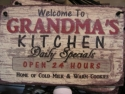 Welcome to Grandma's Kitchen  -  Cat No:   -  Click To Order  -  ID: 813