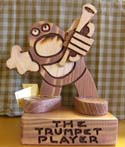 The Trumpet Player  -  Cat No:   -  Click To Order  -  ID: 431