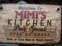 Welcome to Mimi's Kitchen  -  Cat No:   -  Click To Order  -  ID: 812