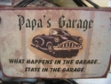 Papa's Garage  -  Cat No:   -  Click To Order  -  ID: 808