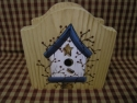 birdhouse with pit berry blue  -  Cat No:   -  Click To Order  -  ID: 1138