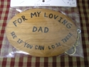 For My Loving Dad See If You Can Lose These  -  Cat No:   -  Click To Order  -  ID: 1121