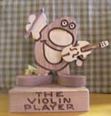 The Violin Player  -  Cat No:   -  Click To Order  -  ID: 435