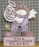 The French Horn Player  -  Cat No:   -  Click To Order  -  ID: 304
