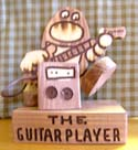 The Guitar Player  -  Cat No:   -  Click To Order  -  ID: 311