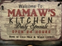 Welcome to Mamaw's Kitchen  -  Cat No:   -  Click To Order  -  ID: 816