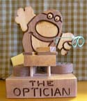 The Optician  -  Cat No:   -  Click To Order  -  ID: 347