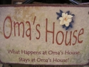 Oma's House  -  Cat No:   -  Click To Order  -  ID: 718