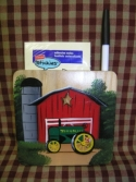 John Deer Red Barn  -  Cat No:   -  Click To Order  -  ID: 1144