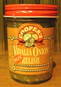 Hot Vidalia Onion Relish  -  Cat No:   -  Click To Order  -  ID: 491