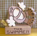 The Swimmer  -  Cat No:   -  Click To Order  -  ID: 421