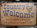 Country Welcome  -  Cat No:   -  Click To Order  -  ID: 803