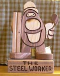 The Steel Worker  -  Cat No:   -  Click To Order  -  ID: 416