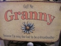 Granny  -  Cat No:   -  Click To Order  -  ID: 724