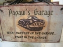 Papaw's Garage  -  Cat No:   -  Click To Order  -  ID: 806