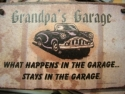 Grandpa's Garage  -  Cat No:   -  Click To Order  -  ID: 810