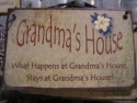 Grandma's House  -  Cat No:   -  Click To Order  -  ID: 731