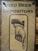 Used Beer Depository   -  Cat No:   -  Click To Order  -  ID: 821